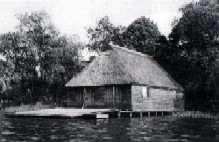 Bootshausbau und Achterlänge